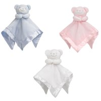 BC21: Bear Comforter with Satin Back