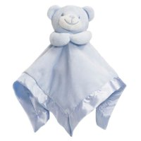 BC21-B: Blue Bear Comforter with Satin Back