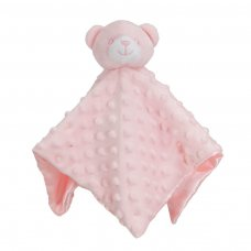 BC34-P: Pink Dimple Bear Comforter