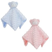 BC34-PB: Dimple Bear Comforter (Pink & Blue Only)
