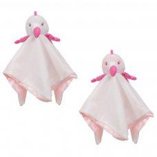 BC44: Flamingo Mink Comforter