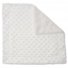 BC50-W: White Bubble Sherpa Comforter