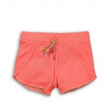 Beachy 9P: Raw Edge Towelling Short (8-13 Years)