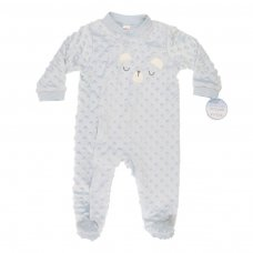 BG118-B: Little Bear Bubble Sleepsuit (0-9 Months)
