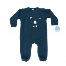 BG120-N: Little Bear Quilted Sleepsuit (0-9 Months)