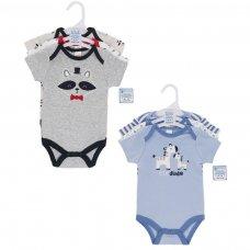 BG46: Boys 3 Pack Bodysuits (NB-9 Months)