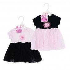 BG52-03: Girls Bodysuit & Tutu Skirt (0-3 Months)
