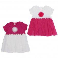 BG54-03: Girls Bodysuit & Tutu Skirt (0-3 Months)