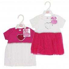 BG54-39: Girls Bodysuit & Tutu Skirt (3-9 Months)
