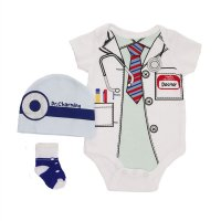 BG80: Boys Bodysuit 3 Piece Set (NB-9 Months)
