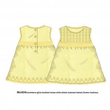 Bird 4P: Fine Knitted Dress (12-24 Months)
