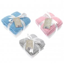BIT180767: 2 Pack Baby Hooded Towels- Assorted Colours