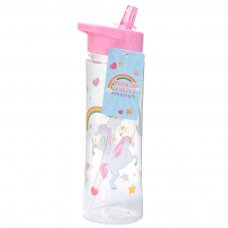BOT05: Water Bottle 500ml - Enchanted Rainbows Unicorn