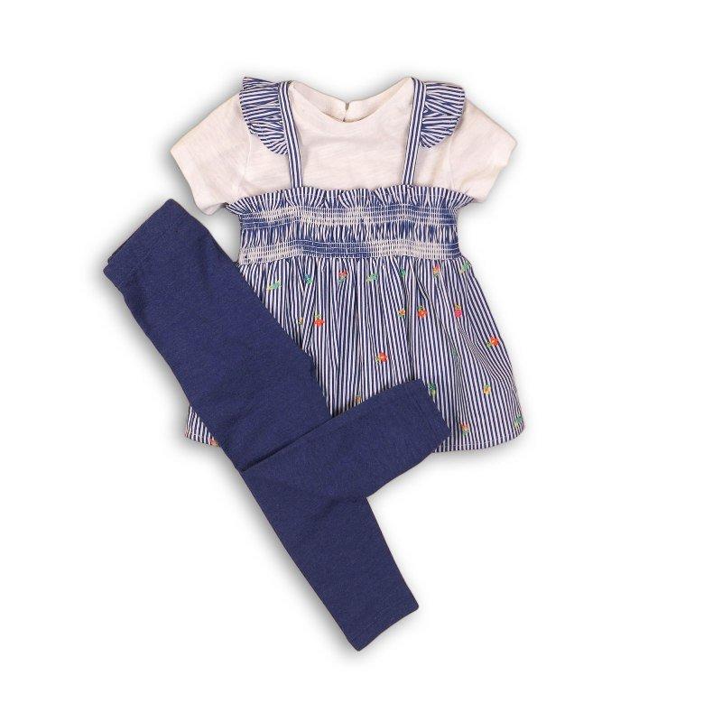 Botanical 4: 3 Piece T-Shirt, Suntop & Legging Set (0-12 Months)