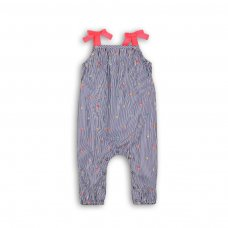 Botanical 8: Ticking Stripe Jumpsuit (0-12 Months)