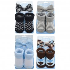 BS02: Bow Tie & Sock Set (6-12 Months)
