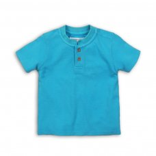 Bugs 8: Pique Washed Grandad T-Shirt (1-3 Years)