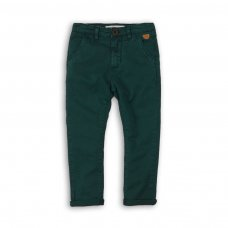 BW CHINO 6: Boys Green Chino Pant (9 Months-3 Years)