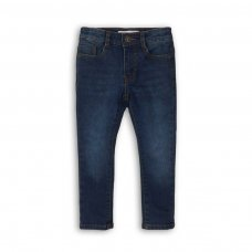 BW JEAN 3: Boys Dark Blue Skinny Jean (9 Months-3 Years)