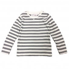 BW JERSEY 8: Boys Navy Stripe Slub Jersey Top (9 Months-3 Years)