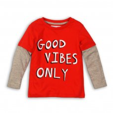 BW LTEE 4: Boys Good Vibes Only Long Sleeve Top (9 Months-3 Years)