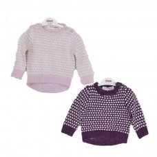 Berry 8: Eyelash Knitted Jumper (6 Months-3 Years)