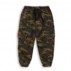 Brook 6: Knitted Camo Washed Jogpant (9 Months-3 Years)