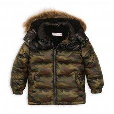 Brook 8: Nylon Camo Puffa Jacket (9 Months-3 Years)