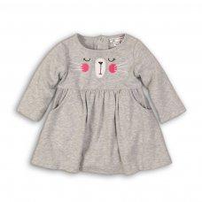 Bunny 12: Jersey Dress  (0-12 Months)
