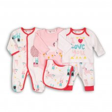 Bunny 5: 5 Piece Boxed Gift Set (0-3 Months)