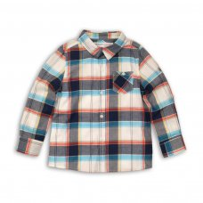 Cast 1: Bold Woven Check Shirt (9 Months-3 Years)