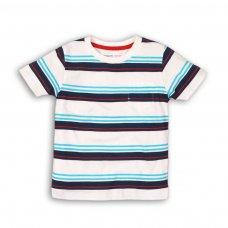 Cast 4: Linen Mix Stripe T-Shirt (9 Months-3 Years)