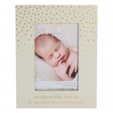 "CG1350: Bambino Little Star Photo Frame - 4"" x 6"""