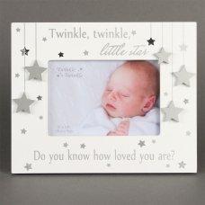"CG1417: Twinkle Twinkle Photo Frame 5"" x 3.5"""