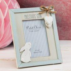 "CG1463: Petit Cheri MDF Frame Rabbit - Precious Son 4"" x 6"""