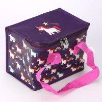 COOLB39: Unicorn Woven Cool Bag Lunch Box