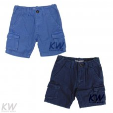 Cali 8P: Washed Canvas Short (8-13 Years)