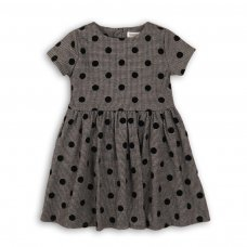 Checkmate 2: Flock Print Woven Dress (3-8 Years)