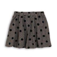 Checkmate 9: Flock Print Woven Skirt (3-8 Years)