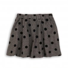 Checkmate 9: Flock Print Woven Skirt (3-8 Years)