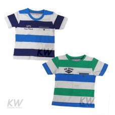 Crafted 7: Striped T Shirt (1-3 Years)