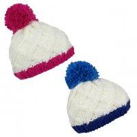 DA4142: Hand Knit Pom Beanie (2-4 Years)