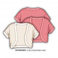 Daydream 6: Crop Crochet Bolero  (1-3 Years)