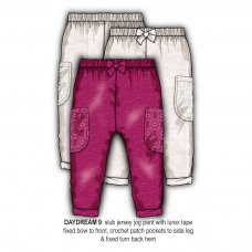 Daydream 9: Slub Jersey Jogpant (1-3 Years)