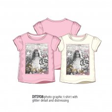 Ditsy 8: Photographic Tee (1-3 Years)