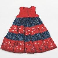 H5765: Girls Cotton Lined Fashion Dress (3-8 Years)