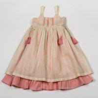 H5769: Girls Cotton Lined Fashion Dress (3-8 Years)