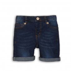 DSHORT 4: Dark Blue Denim Short (3-8 Years)