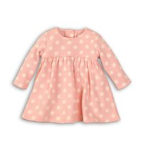 Deer 8: Aop Fleece Dress With Fur Lining (0-12 Months)