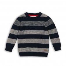 Dept 8: Striped Textured Knit Jumper (9 Months-3 Years)